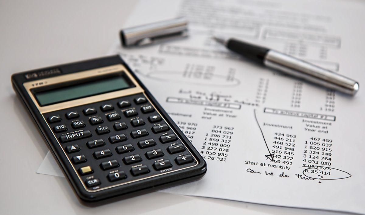 介護保険利用負担額の計算(電卓)