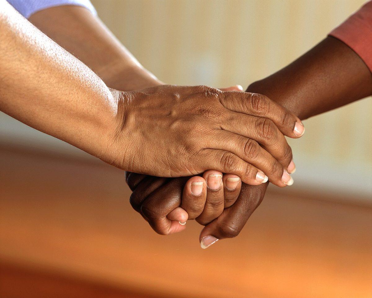 介護サービスを受ける高齢者